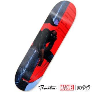 PRIMITIVE × MARVEL × MOEBIUS ROBERT NEAL SPIDERMAN DECK スパイダーマン スケートボードデッキ プリミティブ マーベル