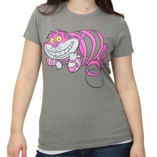 ディズニー 不思議の国のアリス チェシャ猫 レディースTシャツ  DISNEY