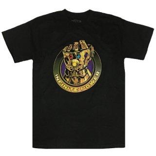 マーベル サノス Gauntlet Infinite Power Tシャツ Thanos MARVEL