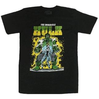 マーベル インクレディブル・ハルク Transforming Distress Tシャツ Hulk MARVEL