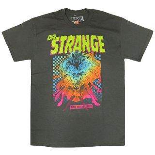 マーベル ドクター・ストレンジ Hail The Master Check Tシャツ Dr. Strange MARVEL