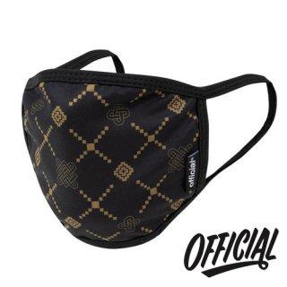 OFFICIAL Crown of Laurel Face Mask Luxe Gold ファッション 布マスク リュクスゴールド ラックス オフィシャル