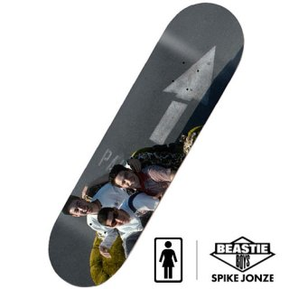 GIRL × BEASTIE BOYS × SPIKE JONZE DECK3 スケートボードデッキ ガールスケートボード ビースティ・ボーイズ スパイク・ジョーンズ