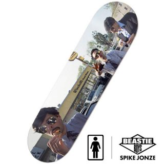 GIRL × BEASTIE BOYS × SPIKE JONZE DECK2 スケートボードデッキ ガールスケートボード ビースティ・ボーイズ スパイク・ジョーンズ