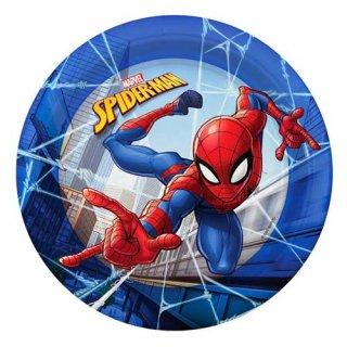 マーベル スパイダーマン 12PCペーパープレート Sサイズ 紙皿 MARVEL