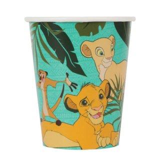 ディズニー ライオンキング 8pcペーパーカップ 紙コップ DISNEY