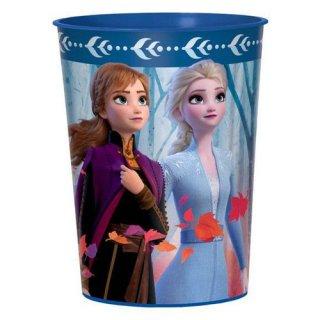 ディズニー アナと雪の女王2 パーティーカップ コップ メタリック DISNEY