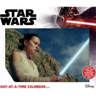 スター・ウォーズ 2021年 日めくりカレンダー 卓上カレンダー STAR WARS