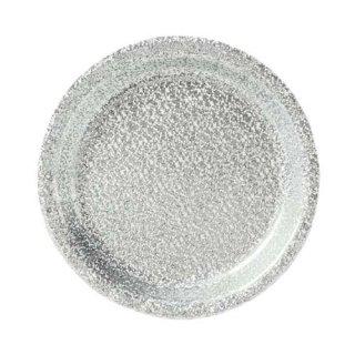 amscan プリズマティック シルバー 8PCペーパープレート Sサイズ 紙皿 ホームパーティー