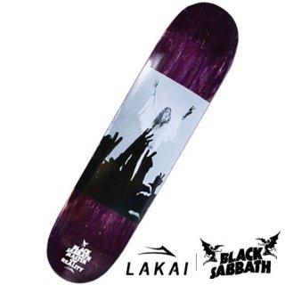 LAKAI × BLACK SABBATH TOUR PHOTO DECK スケートボードデッキ ラカイ ブラックサバス