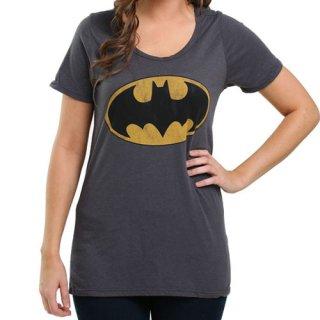 DCコミック バットマン Vintage Bat Signal レディースTシャツ BATMAN DC COMICS