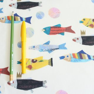 small fish(カラフル)