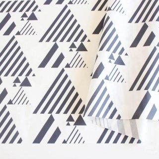 三角ストライプbig(モノクロ)