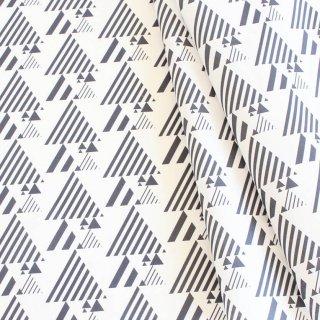 三角ストライプmini(モノクロ)