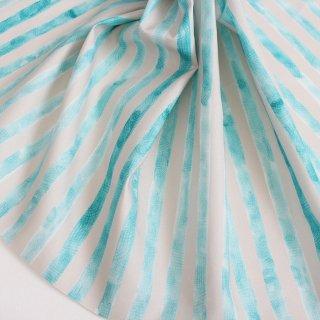 stripe(エメラルド×グレー)