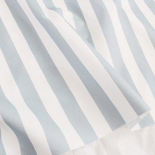 ベーシックストライプ(深川鼠色)-和の伝統色ブックシリーズ-