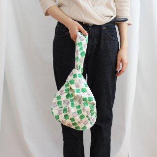 パターンファブリック:しじみバッグ(clover pattern)
