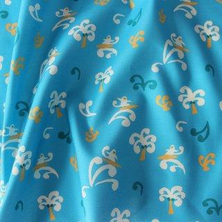 さるのサーフィン(ブルー×ホワイト)