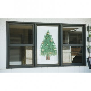 クリスマスツリータペストリー(小):さこももみ