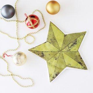 クリスマス 大きな星のオーナメントキット