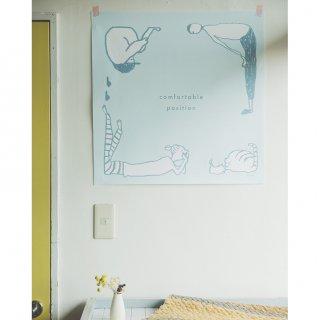 ファブリックポスター:Comfortable position(スズキカホ)
