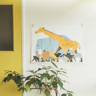 ファブリックポスター:Safari(サタケシュンスケ)