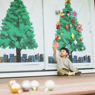 クリスマスツリータペストリー(大):ユ・スジ