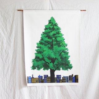 クリスマスツリータペストリー(小):ユ・スジ