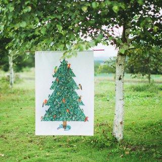 クリスマスツリータペストリー(小):マーク・マーティン