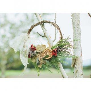 クリスマスリース:森のリース