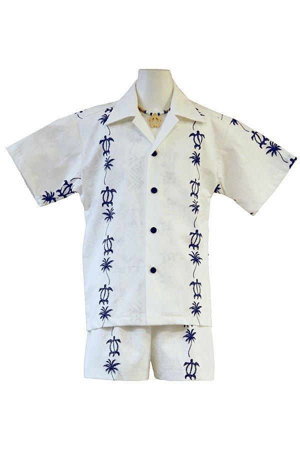 Boysアロハシャツスーツ(ウリ・ホヌライン)