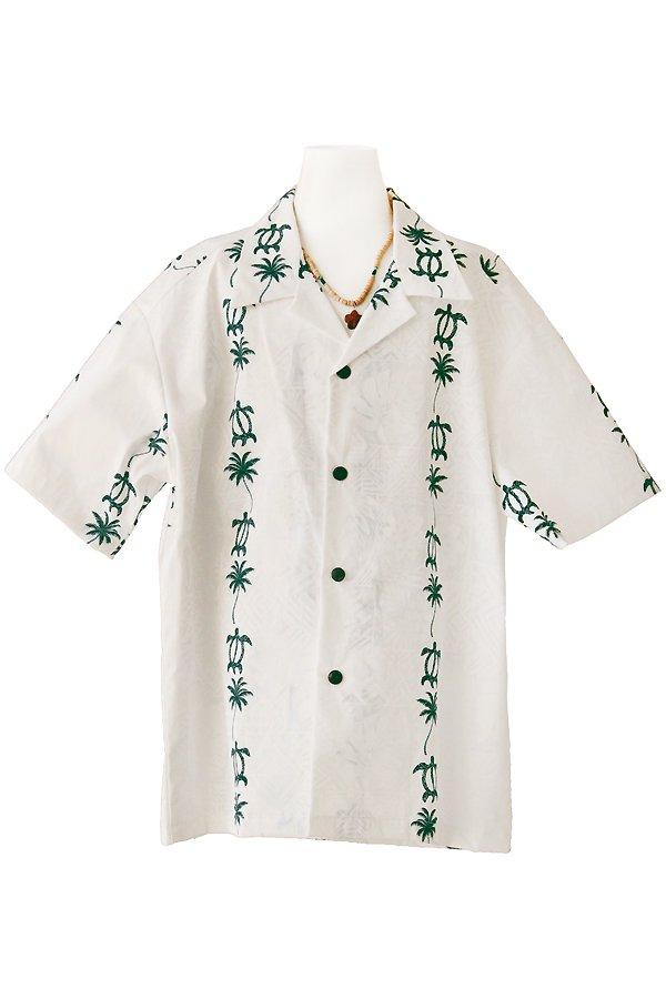 Boysアロハシャツ(マオ・ホヌライン)