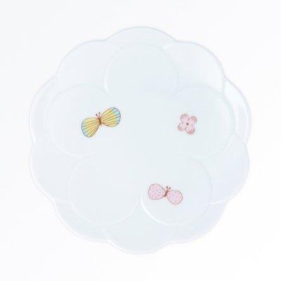チョウ取り皿[ピンク]