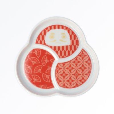だるま小皿[赤]