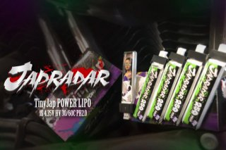 TinyJap POWER LIPO 1S HV 250mAh 5pcs