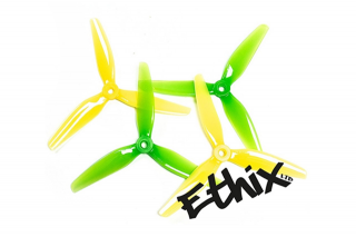 HQProp プロペラ5×3.65×3 Ethix S4 Lemon Lime(4個入り)