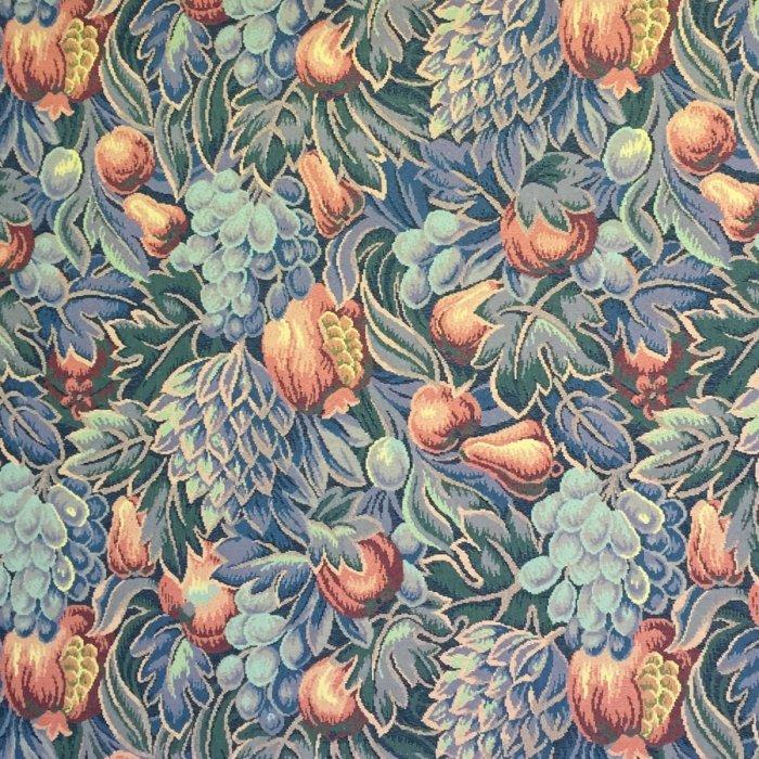 フランス生地 タペストリー織り フラワー 《ジャーディン》 マルチ