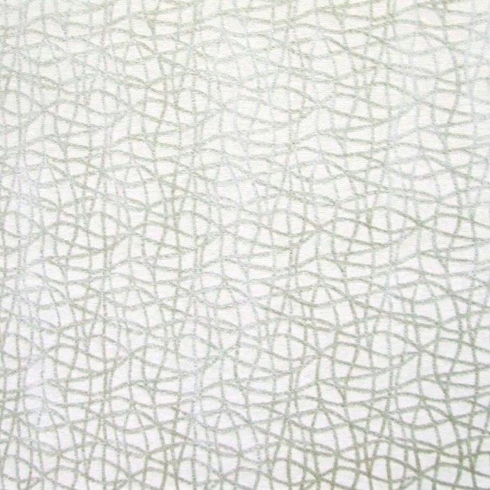フランス生地 ベルベット 幾何学 柄 ジャカード 《ハンニバル》 グリーン