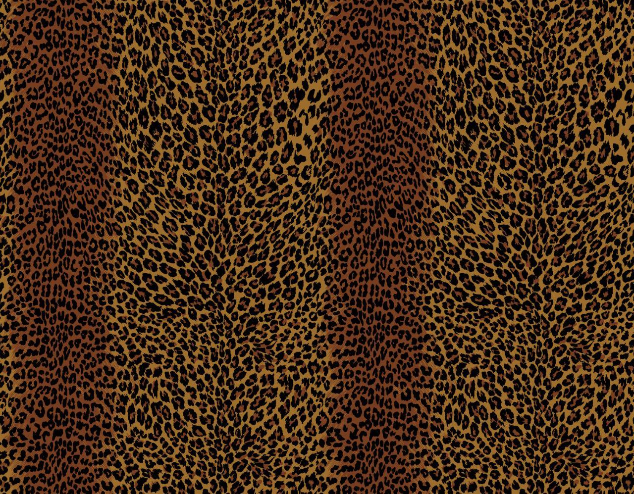 フランス壁紙 フリース(不織布) - 防炎加工 マドレーヌ・カスタン デザイン 《レオパー》 ブラウン by Edmond Petit (エドモンプティ)