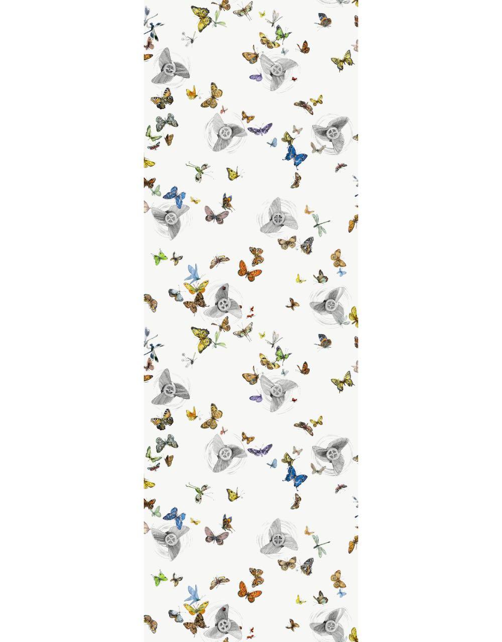 フランス壁紙 フリース(不織布) - 防炎加工 by キャサリン・グラン 《エンヴォルフ》 マルチ