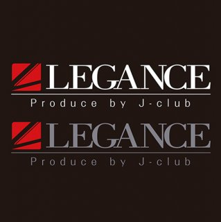LEGANCE New ブランドロゴステッカー