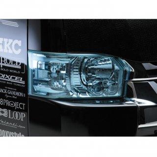 200系カラーヘッドライトカバー