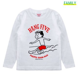 Kid's HANG FIVE ロンT