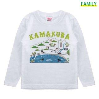 Kid's 鎌倉マップ寛多ver ロンT