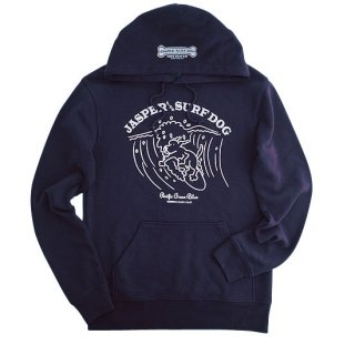 JASPER the SURF DOG PULLパーカー (Navy)