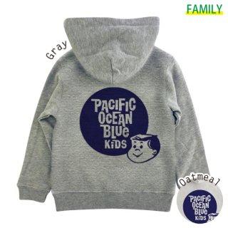 Kid's P.O.B. KIDS ZIPパーカー