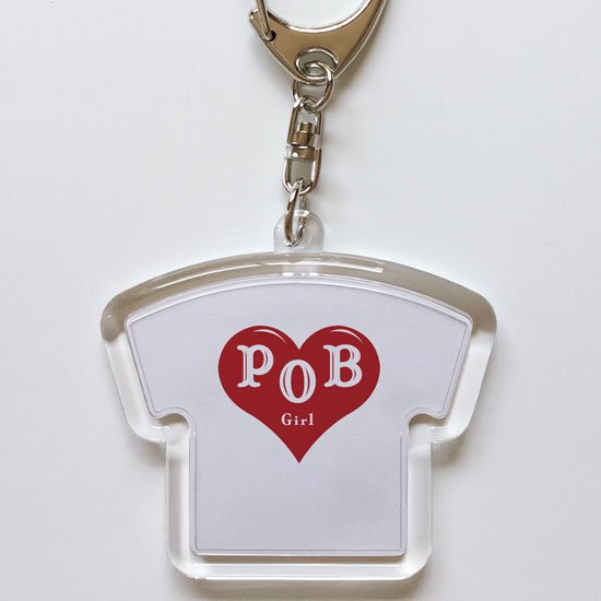 POB girl キーホルダー