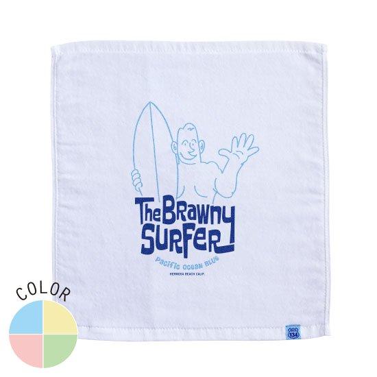 The Brawny Surfer ハンドタオル