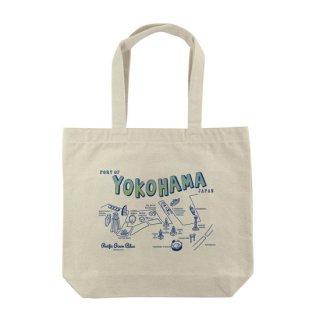 YOKOHAMAマップ トートバッグ