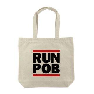 RUN POB トートバッグ